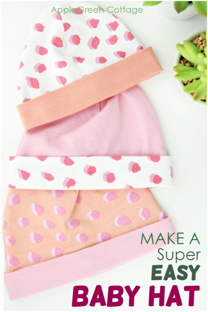 sewing pattern for baby hat