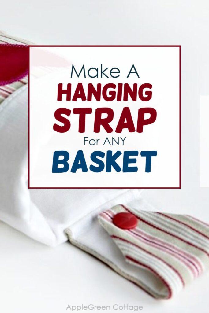 make hanging basket strap