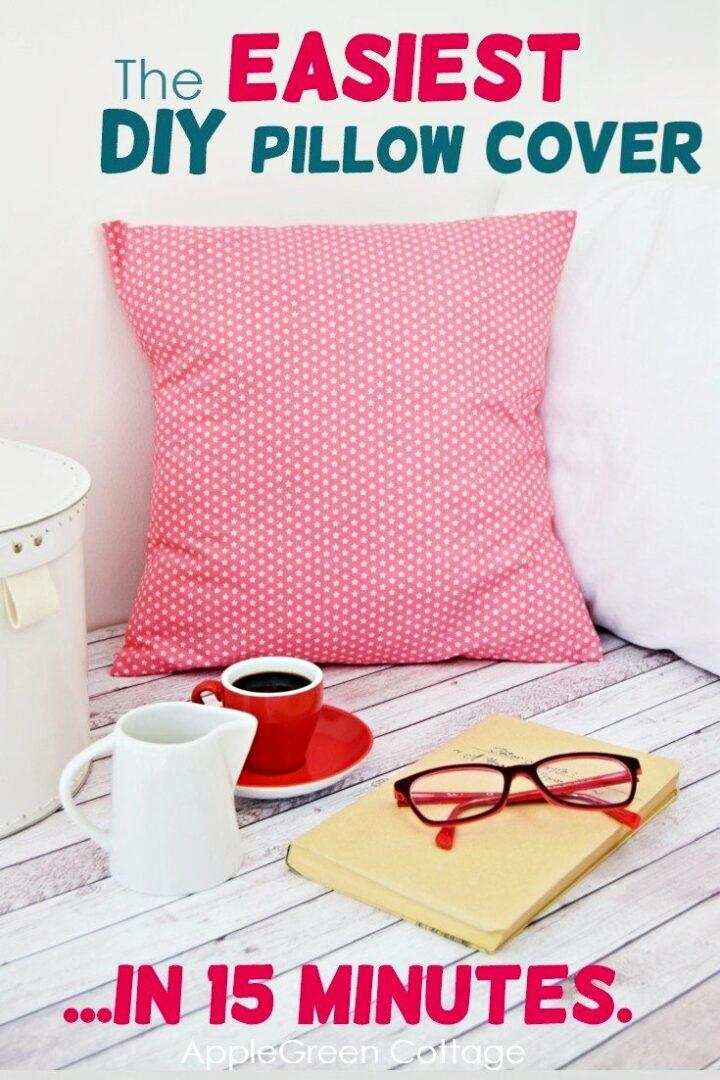 diy pillow cover