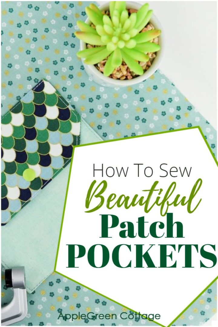 How to Sew Patch Pockets