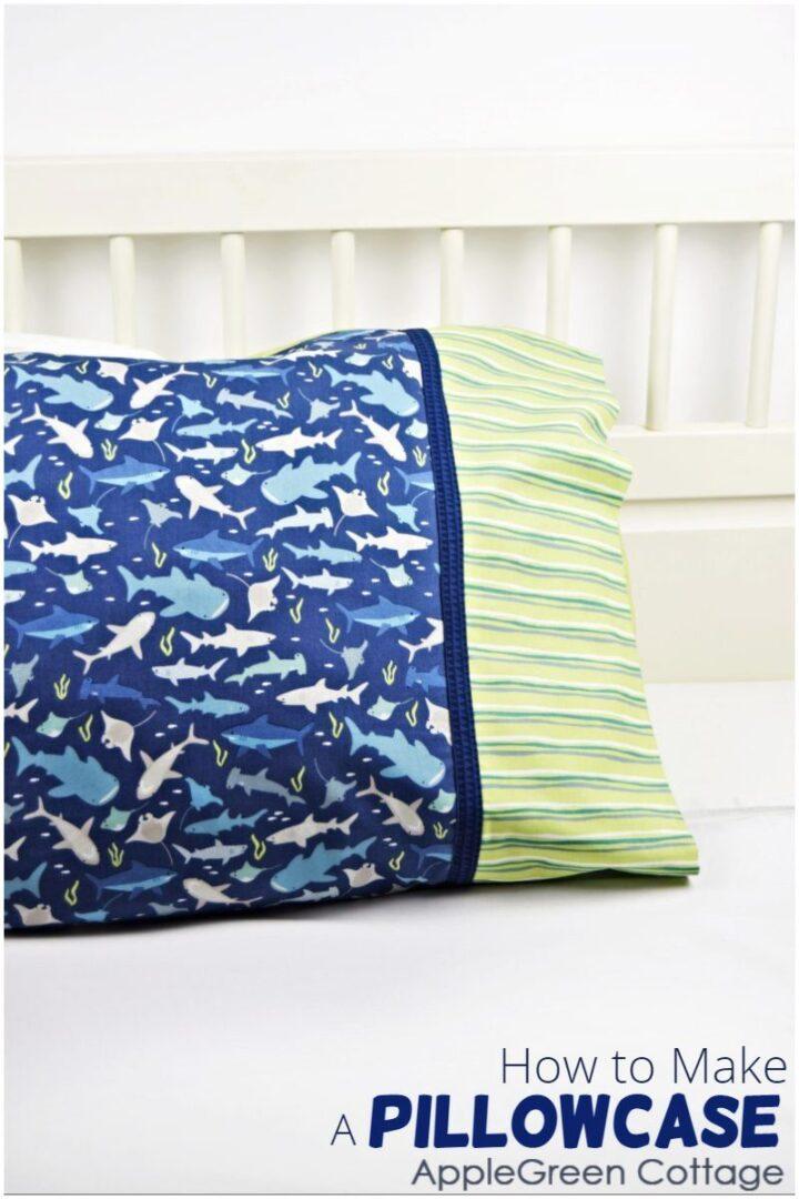 beautiful diy pillowcase