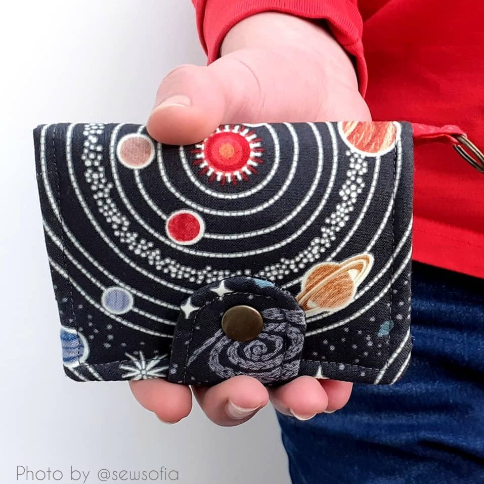 mini wallet pattern by applegreencottage