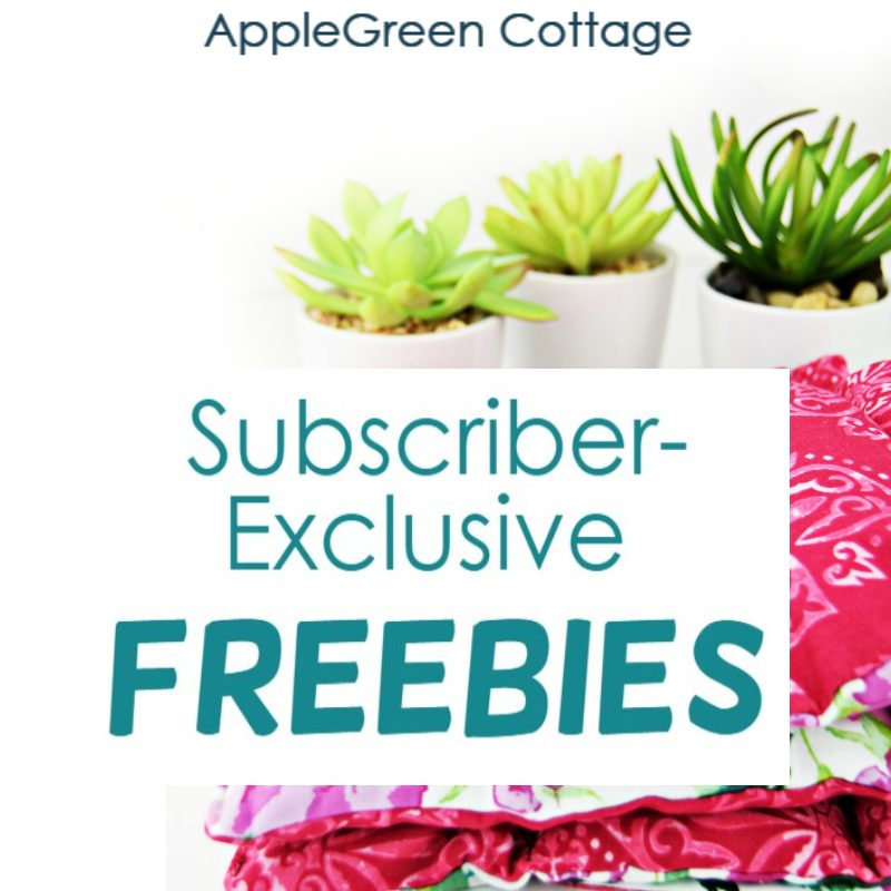 How to get free sewing patterns at AppleGreen Cottage - and more