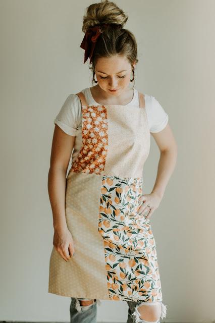 patchwork apron pattern