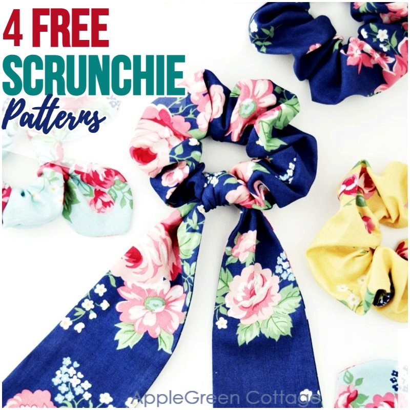 free scrunchie pattern