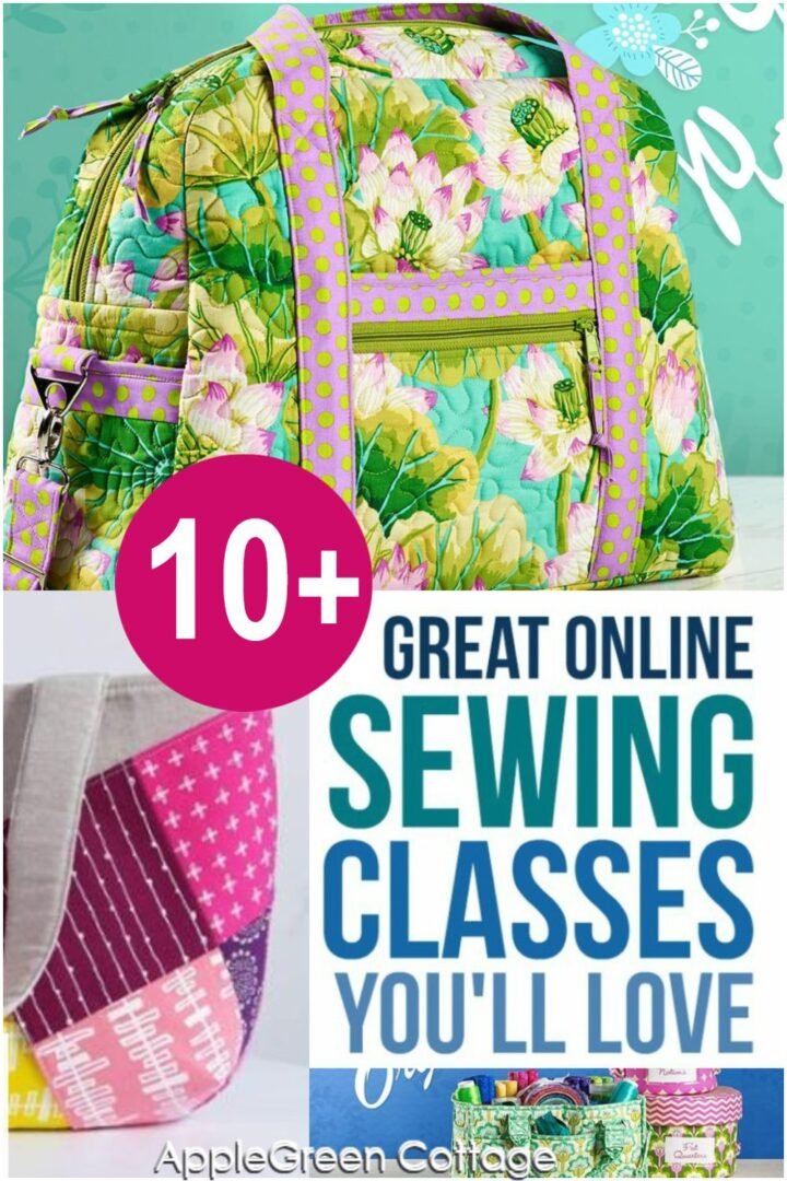 10+ Great Online Sewing Classes You'll Love