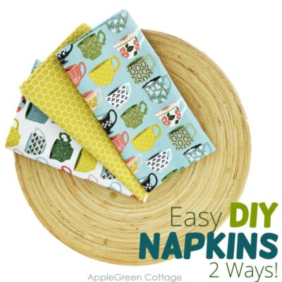 diy cloth napkins