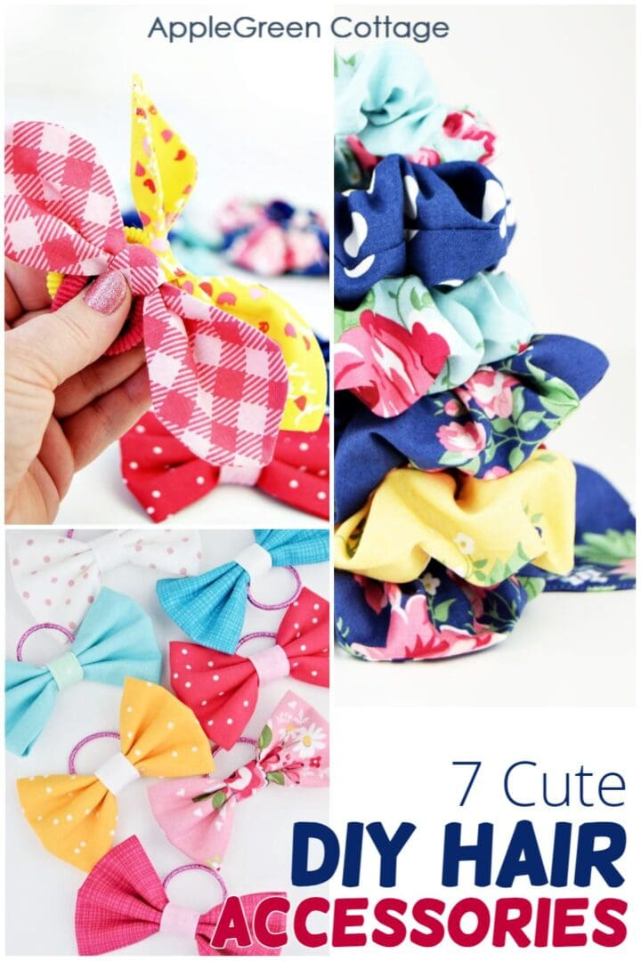 7 Diy Hair Accessories To Make This Summer!