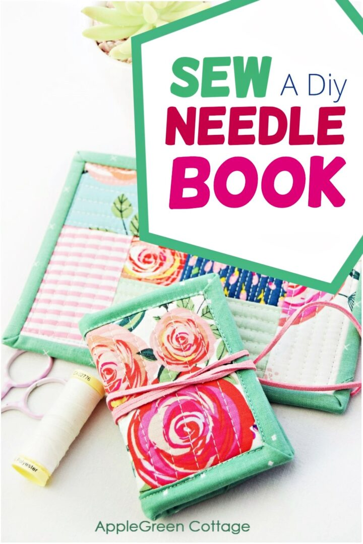 How To Sew A Diy Needle Book