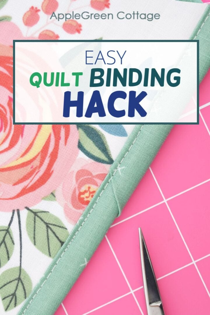 Quilt Binding Hack! - How To Finish Binding On A Quilt