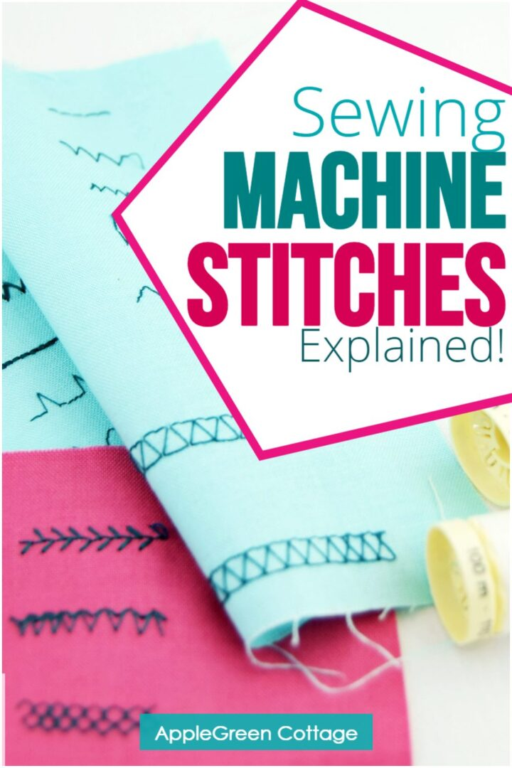The Basic Sewing Machine Stitches You Need To Know