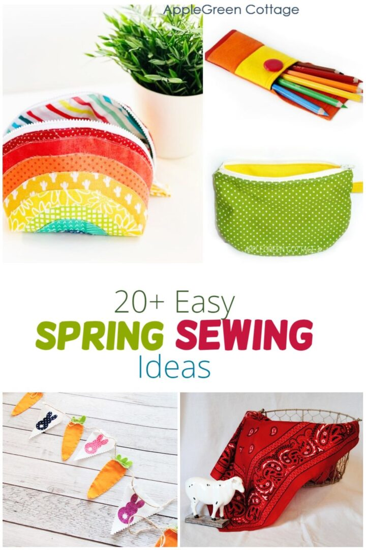 20+ Fun Spring Sewing Projects For Beginners