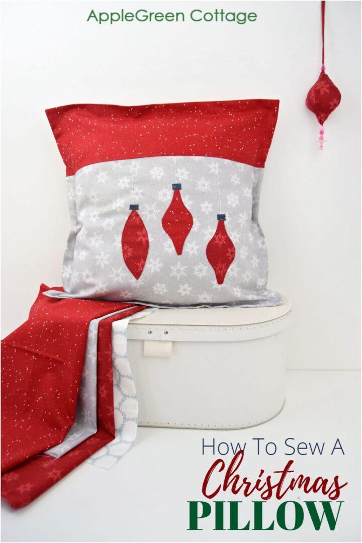 Diy Christmas Pillow