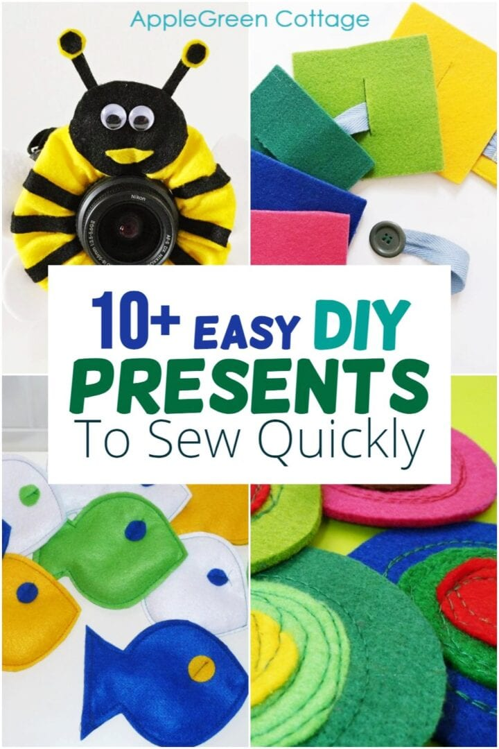 easy diy presents to sew