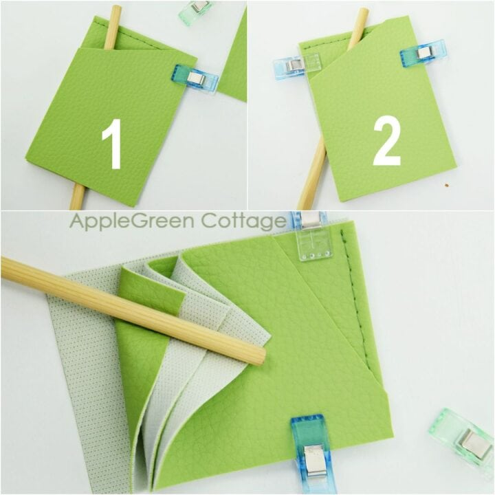 how to make a card holder wallet