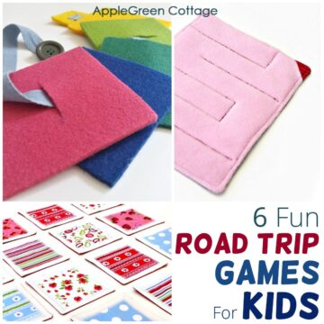 road trip games for kids to make and play