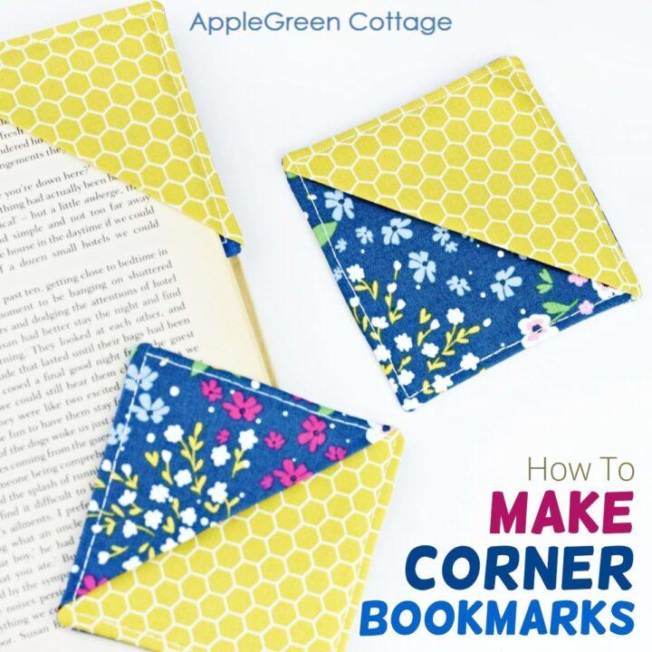 how to make corner bookmarks