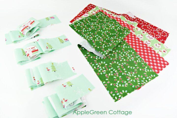 pocket pieces to cut for a diy advent calendar