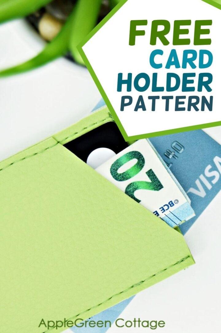 free front pocket wallet pattern