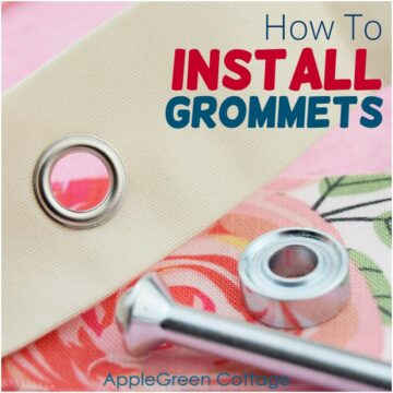 How To Install Grommets On Fabric