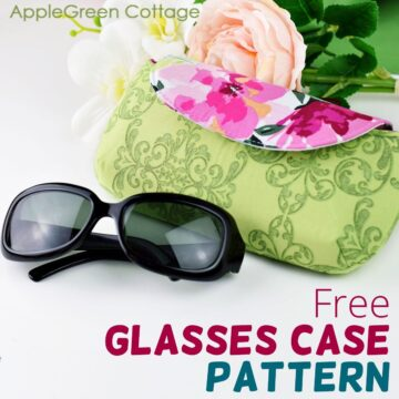 How To Sew An Eyeglasses Case Pattern - Free Glasses Case Pattern!