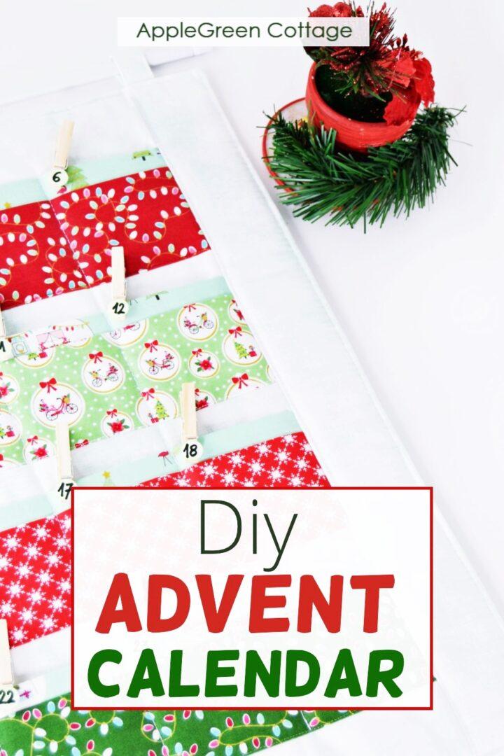 Make a Reusable Diy Advent Calendar