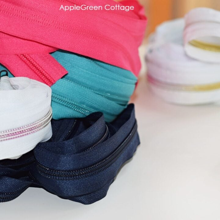 zippers by the yard tutorial for zipper sliders