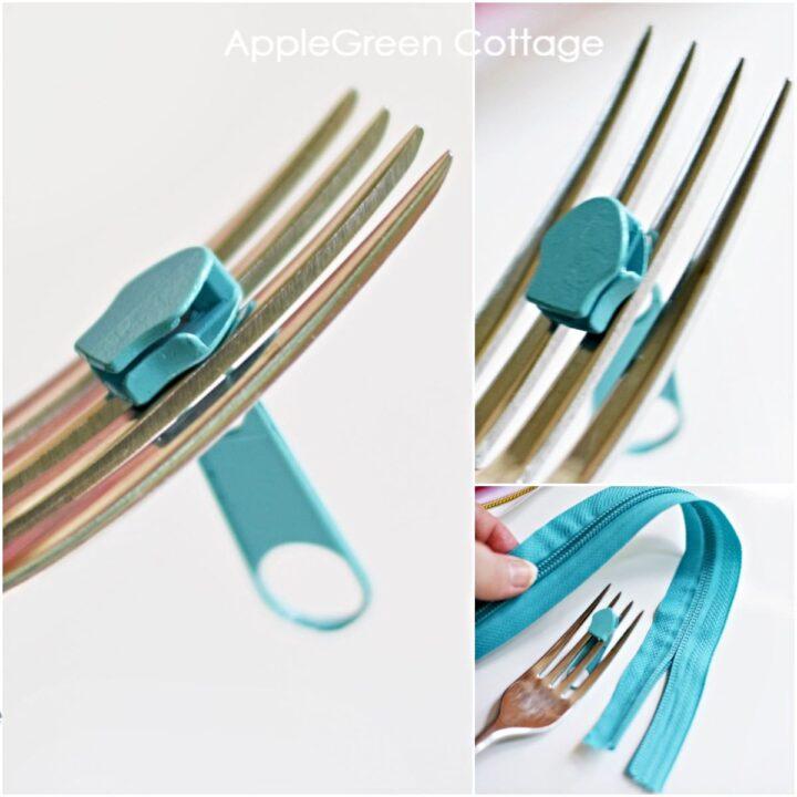 tools to put a slider on zipper