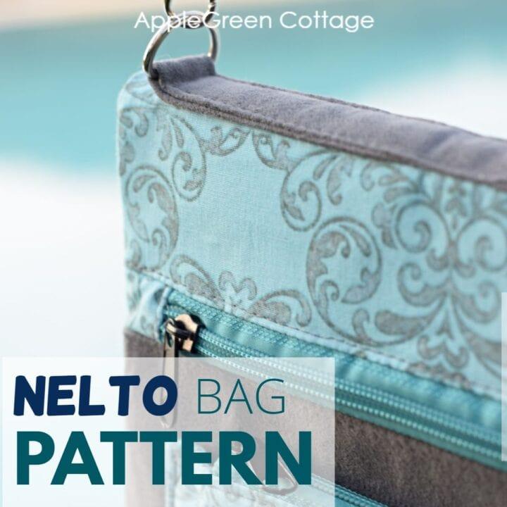 crossbody purse pattern for a messenger type bag