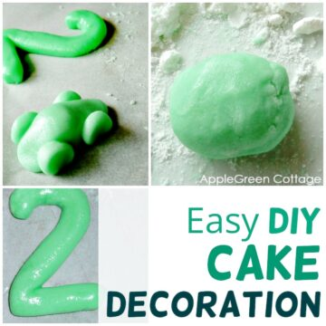 Easy Diy Cake Decoration - 3 Ingredients Only!